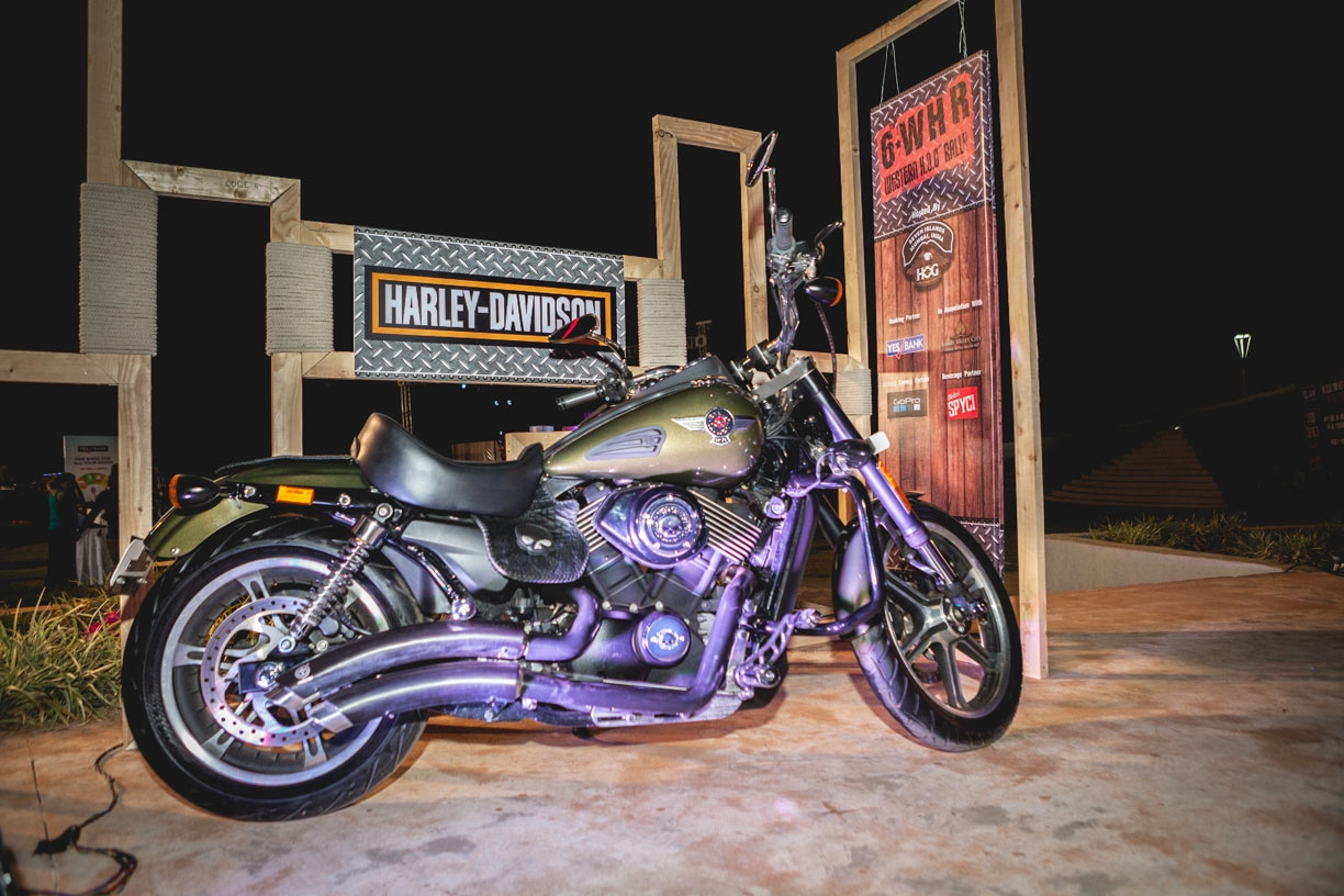The brand currently has 14 models most recent street rod and 60 per cent market share in the 601 cc motorcycle segment in this market