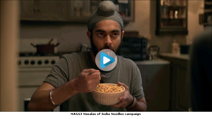 MAGGI Masalas of India Noodles campaign