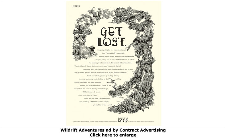 Wildrift Adventures ad by Contract Advertising