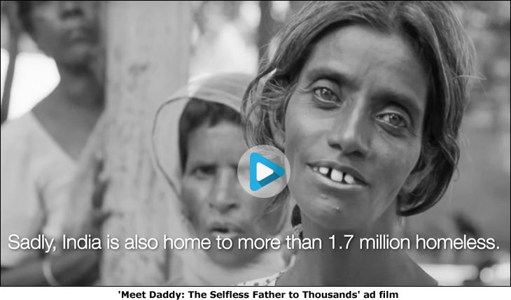 Meet Daddy: The Selfless Father to Thousands' ad film
