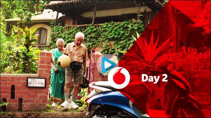 Vodafone SuperNet 4G's campaign - #MakeMostOfNow - Find your way with the Data Strong Network - Day 2