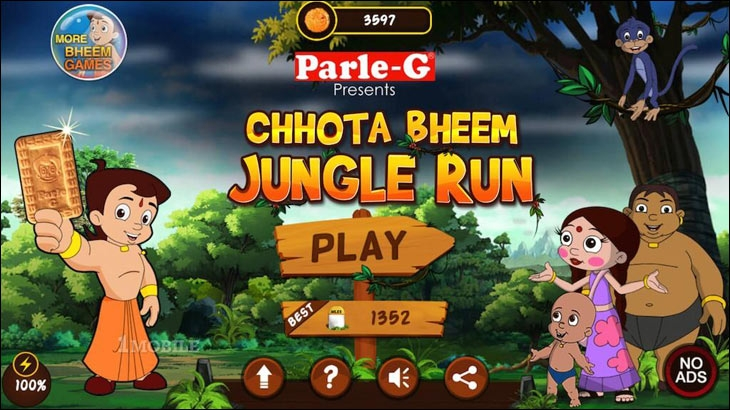 1.2 billion virtual Parle-G biscuits were reportedly consumed on the 'Chhota Bheem' mobile game