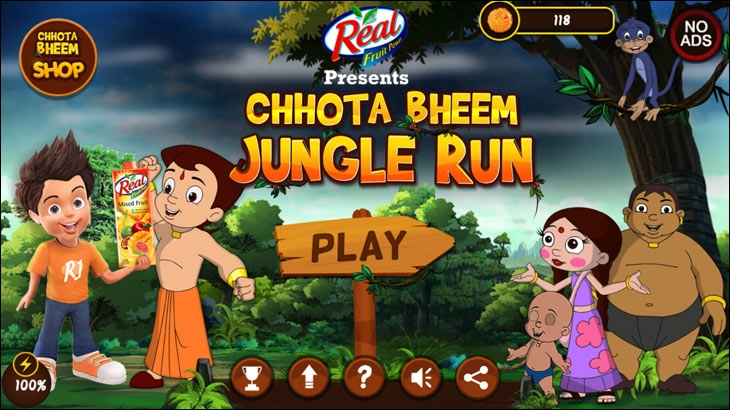 Previously, Nazara  integrated Dabur Real Juice with its game 'Chhota Bheem'