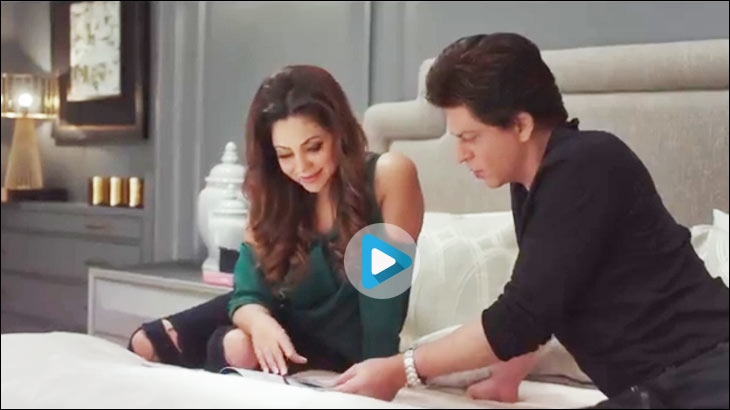 D'Decor's TVC featuring Shah Rukh Khan and Gauri Khan
