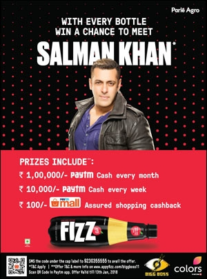 Appy Fizz-Paytm Promo for Bigg Boss