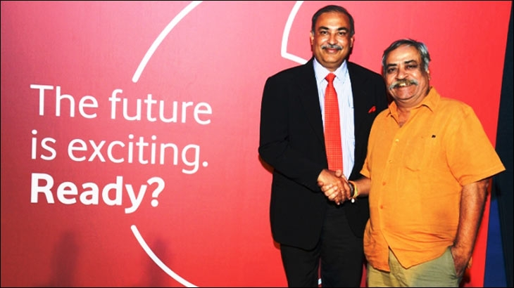 From left to right - Sunil Sood and Piyush Pandey