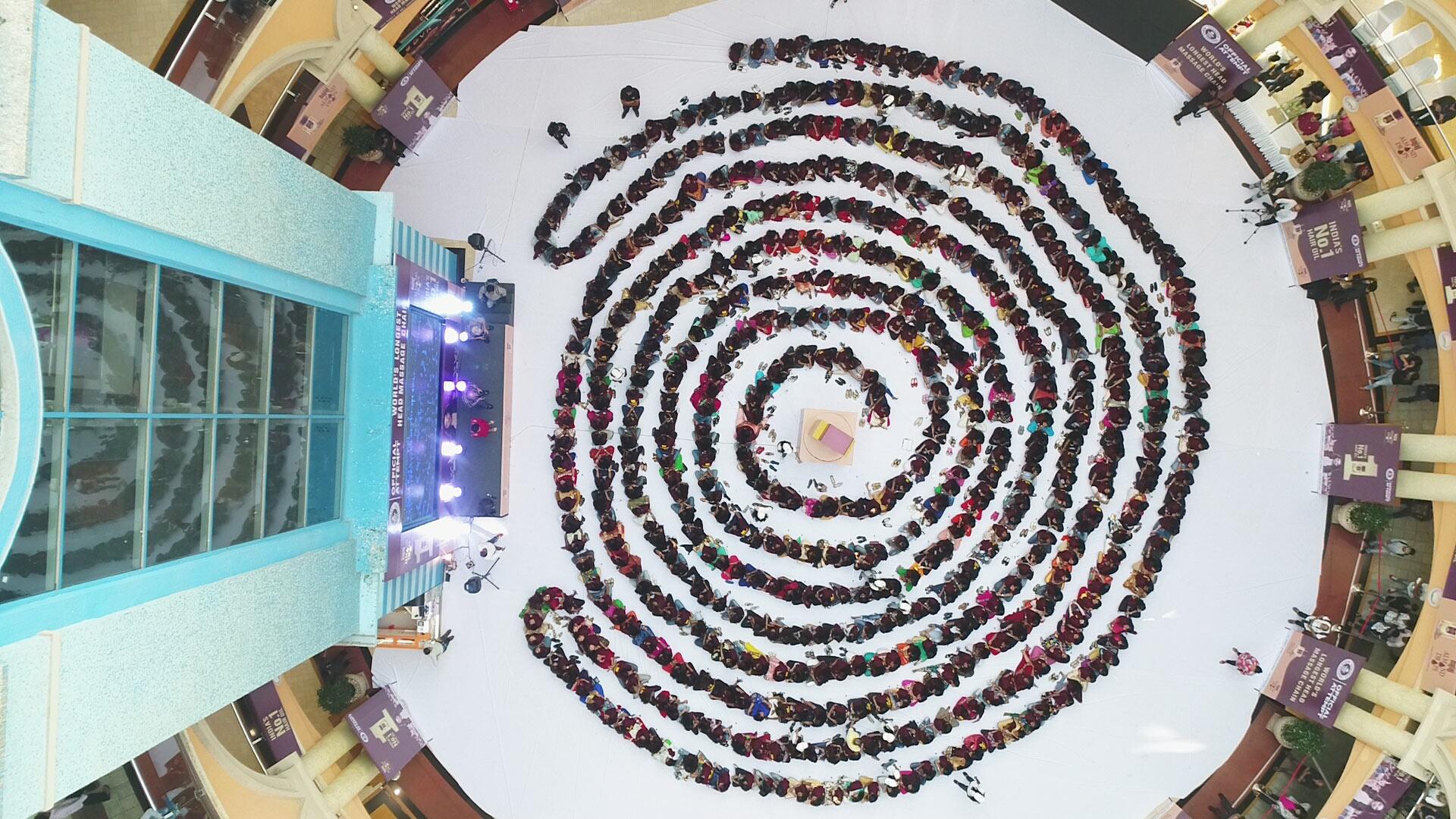 Bajaj Almond Drops Hair Oil enters the Guinness World Records - photo #33