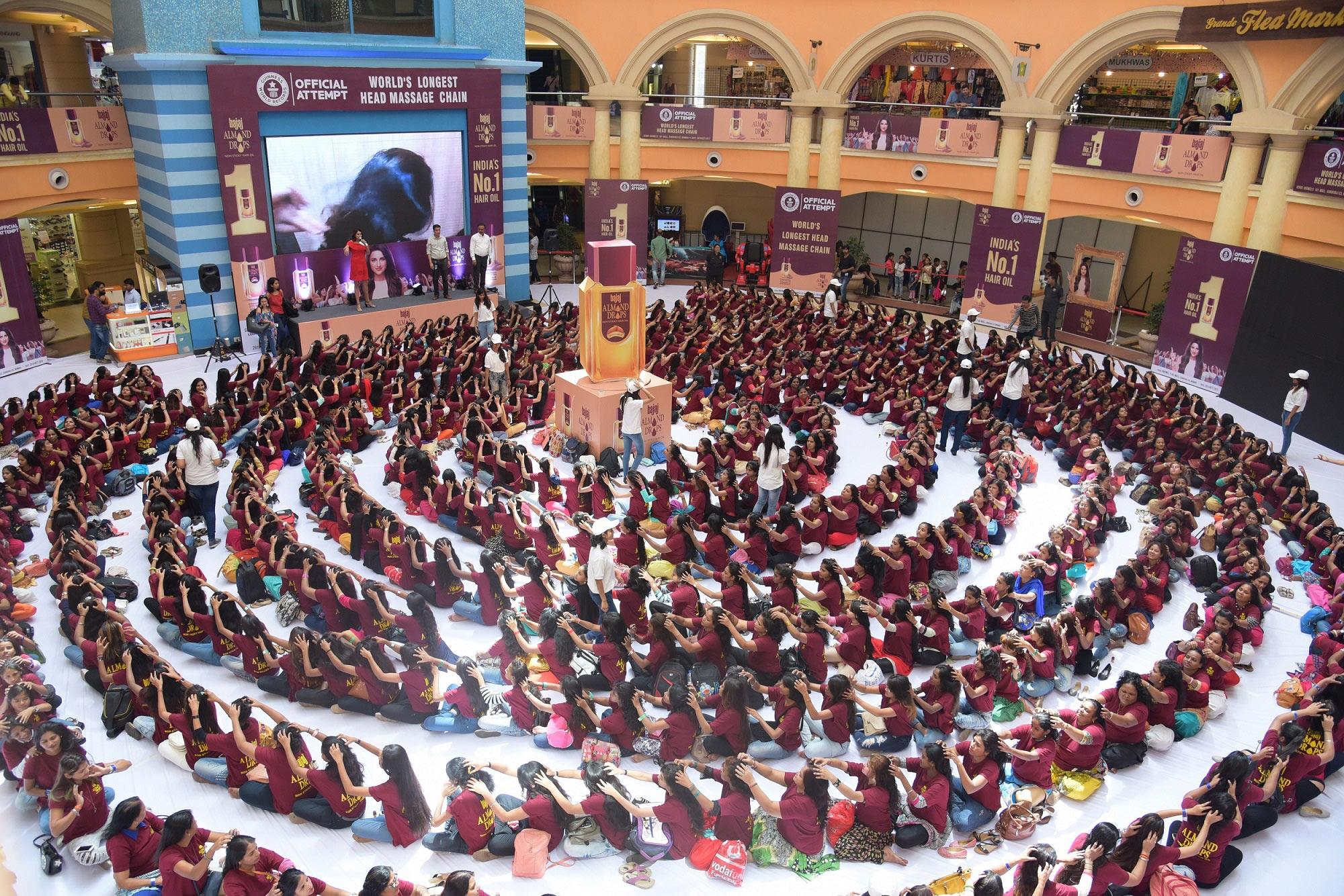 Bajaj Almond Drops Hair Oil enters the Guinness World Records - photo #42