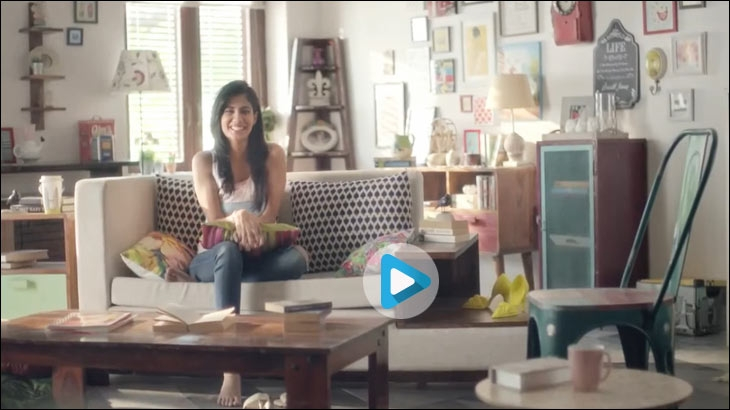 Pepperfry TVC featuring Shreya Dhanwanthary