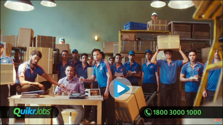 New TVC by Quikr Jobs
