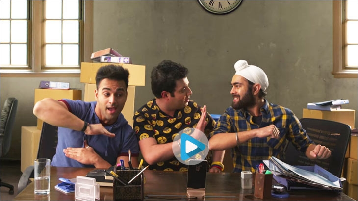 Digital ad by Excel Entertainment for Fukrey Returns