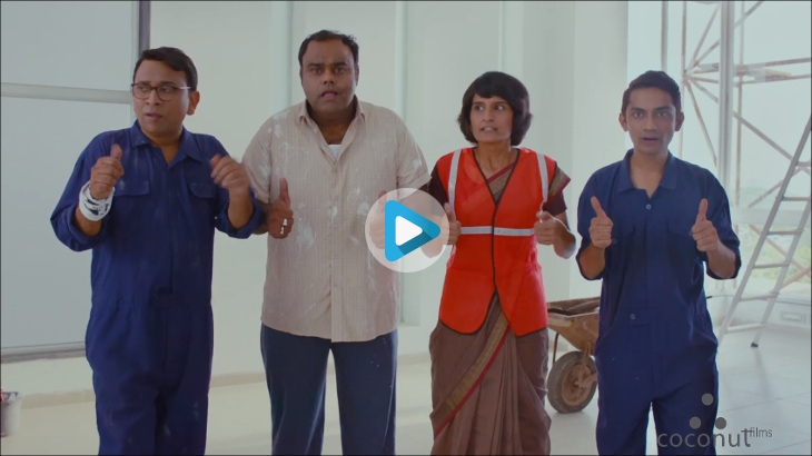 New TVC Bharathi Cement Full Guarantee