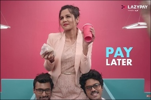 afaqs Creative Showcase LazyPay launches lyrical ad