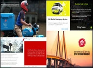 Brands that reached out to Mumbaikars while it rai...