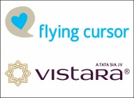 Vistara appoints Flying Cursor as digital agency