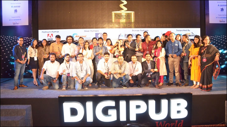 Nineteen websites are winners at first Digipub Awards for online publishers