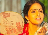Spunky Sridevi in, funky Ranveer out?
