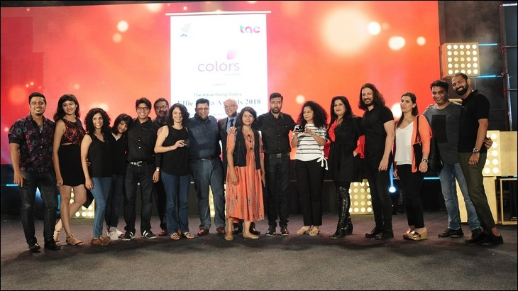 Team members of Ogilvy & Mather India celebrate post winning Grand Effie award