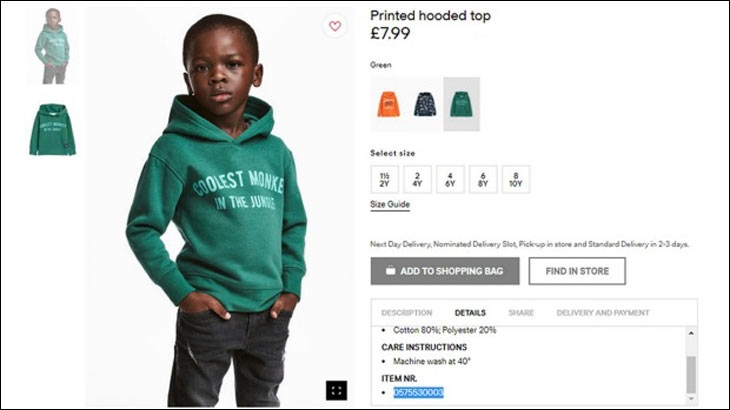 H&M was caught off guard when the brand's ad portraying a black child was deemed racist