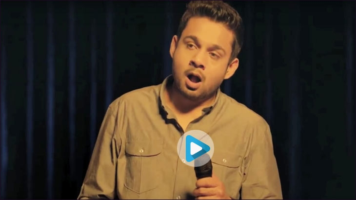 Nescafe's old ad featured a stammering comedian on stage in the brand's #ItAllStarts campaign
