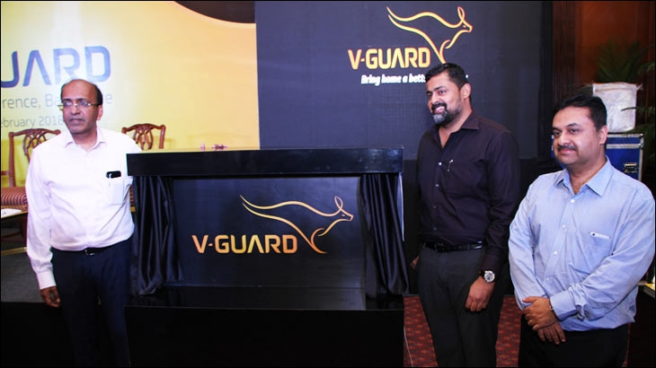 V-Guard Industries unveiled its new identity and vision for the brand