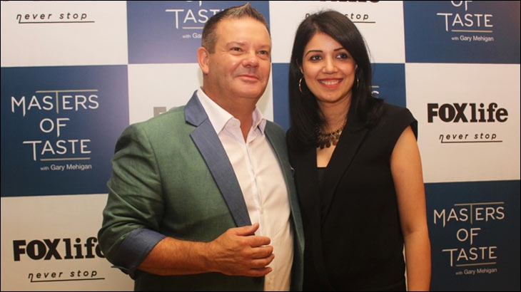 Swati Mohan with Gary Mehigan