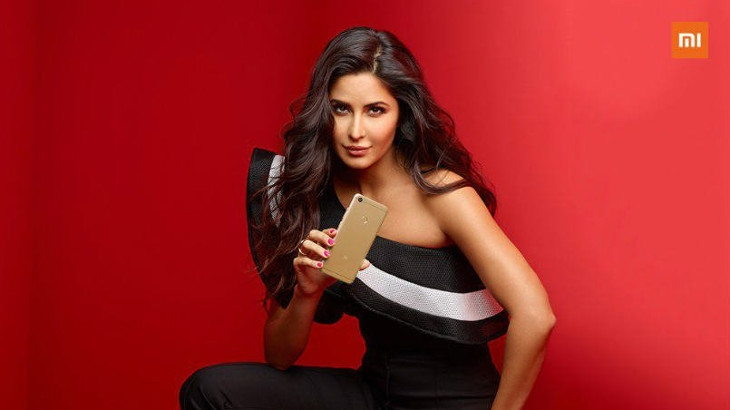 Katrina Kaif is the brand ambassador for Xiaomi's Redmi Y series