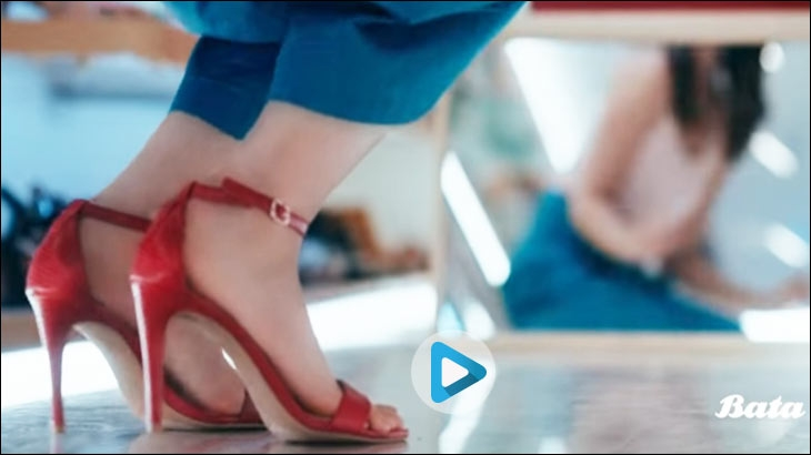 Bata's latest commercial #ComeAndBeSurprised