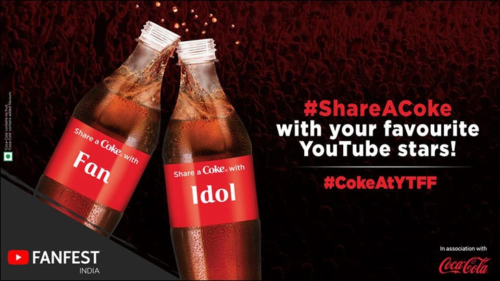 #ShareACoke with your favourite YouTube stars