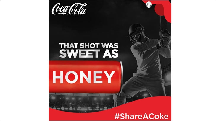 IPL themed post uploaded on the Coca-Cola India's Facebook page