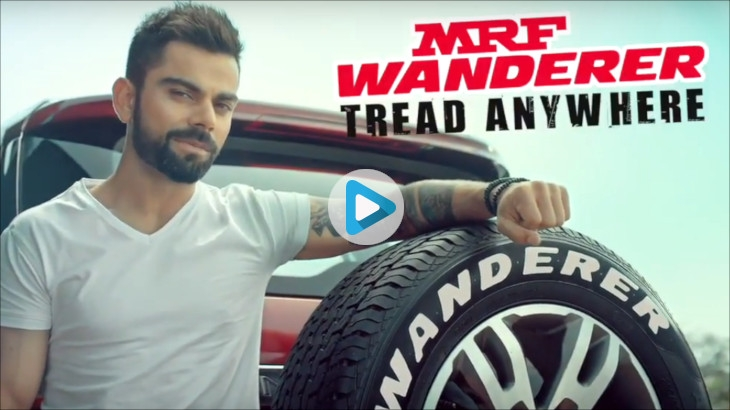 MRF Wanderer - Tread Anywhere