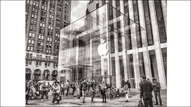 5th Avenue America, Apple Store