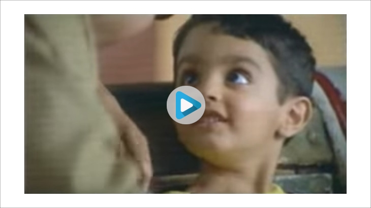 Dhara's TVC featuring the Jalebi boy