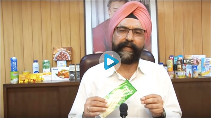 Amul has recently released a video featuring none other than the MD RS Sodhi himself in a bid to put all the 'rumours' to rest