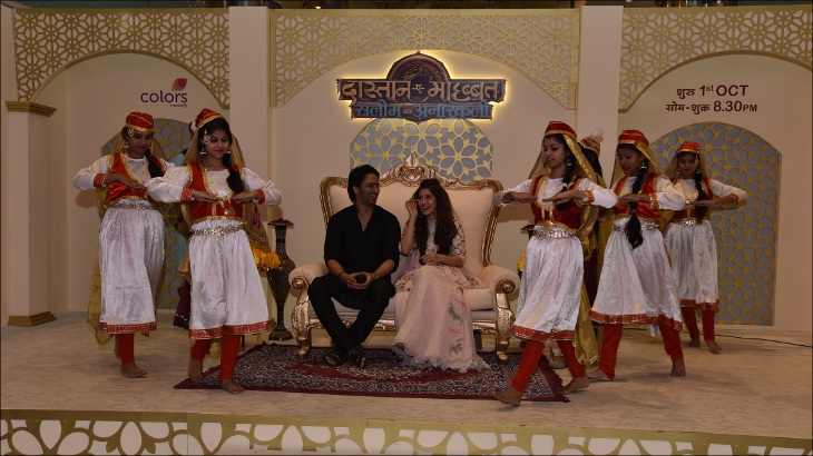 COLORS promotes its period love-drama Dastaan-e-Mohabbat: Salim