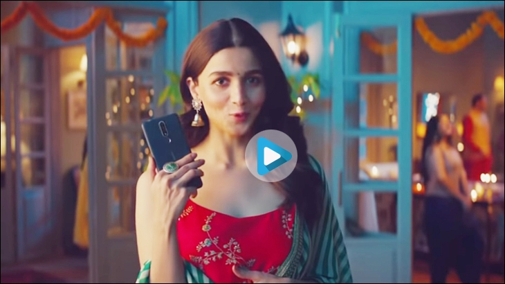 Nokia campaign with Alia Bhatt from 2018