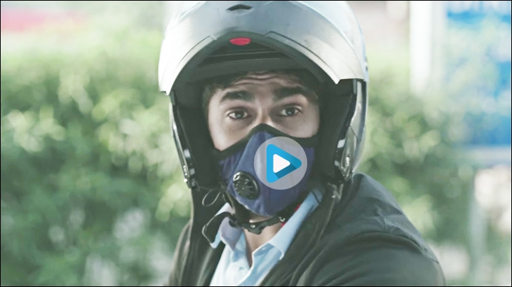 Campagne Dettol SiTiSHIELD Air Pollution Mask