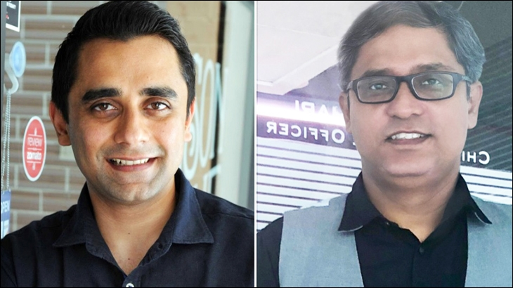 L To R: Sanjay Gupta and Navonil Chatterjee