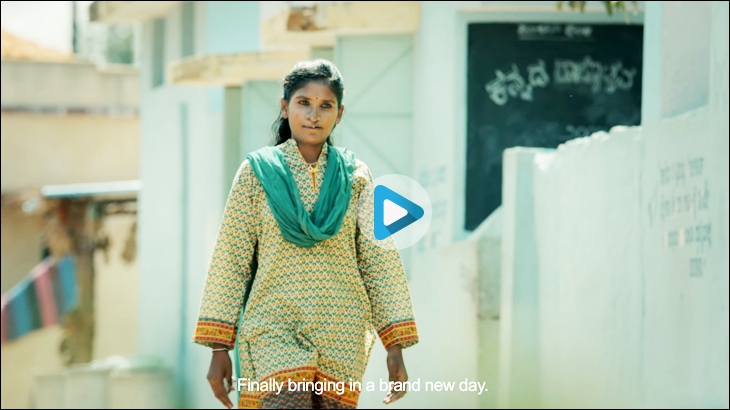 Muskaan campaign launched by Himalaya Lip Care in 2016 showcasing the story of Jyothi