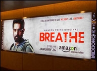 Amazons marketing effort for Breathe is at par with Bigg Boss KBC