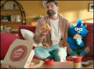 Pizza Hut takes a dig at Dominos in first celeb-b