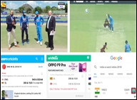 TV Streaming Apps Google What role does each play in the world of cricket scores