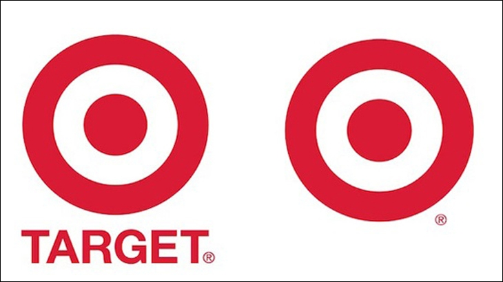 Target dropped its name from the logo in 2006