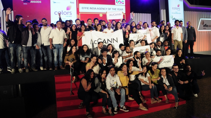 McCann World Group India - Effie India Agency of the Year