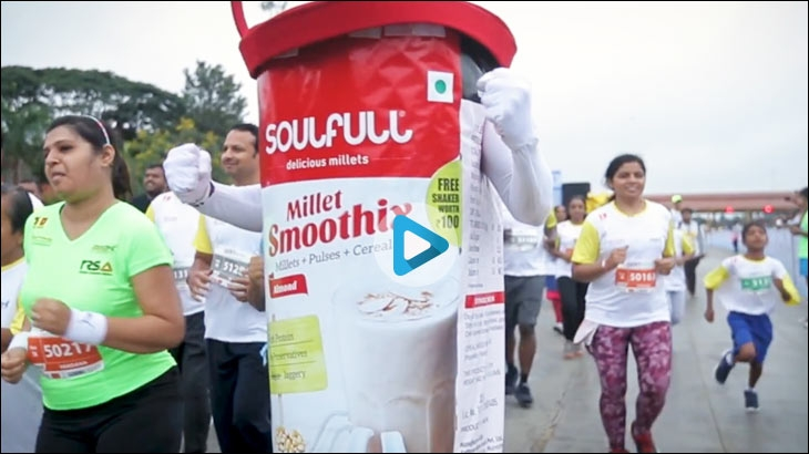 Smoothix's outdoor activation from around the time the brand was launched