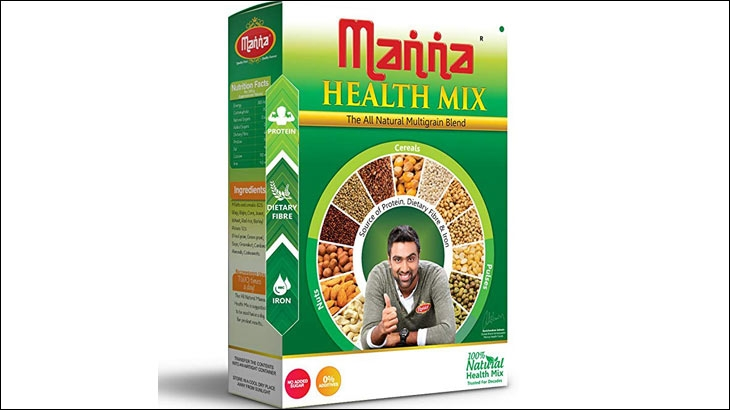 Manna Health Mix, a similar product sold in cereal boxes