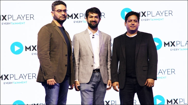 (L-R) Gautam Talwar - Chief Content Officer, Karan Bedi - CEO, Vivek Jain - Chief Strategy Officer