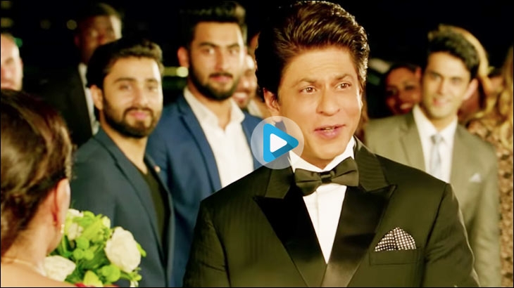 Shah Rukh Khan in an ad for Dubai Tourism