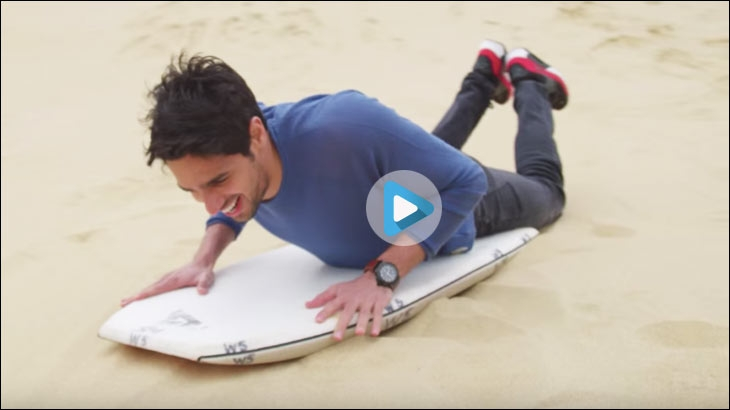 Star kid Sidharth Malhotra collaborated with New Zealand's tourism campaign called '100% Pure New Zealand'