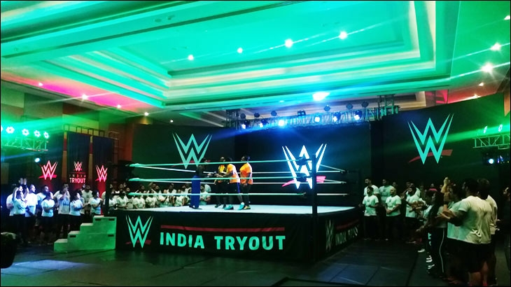 WWE India Tryout